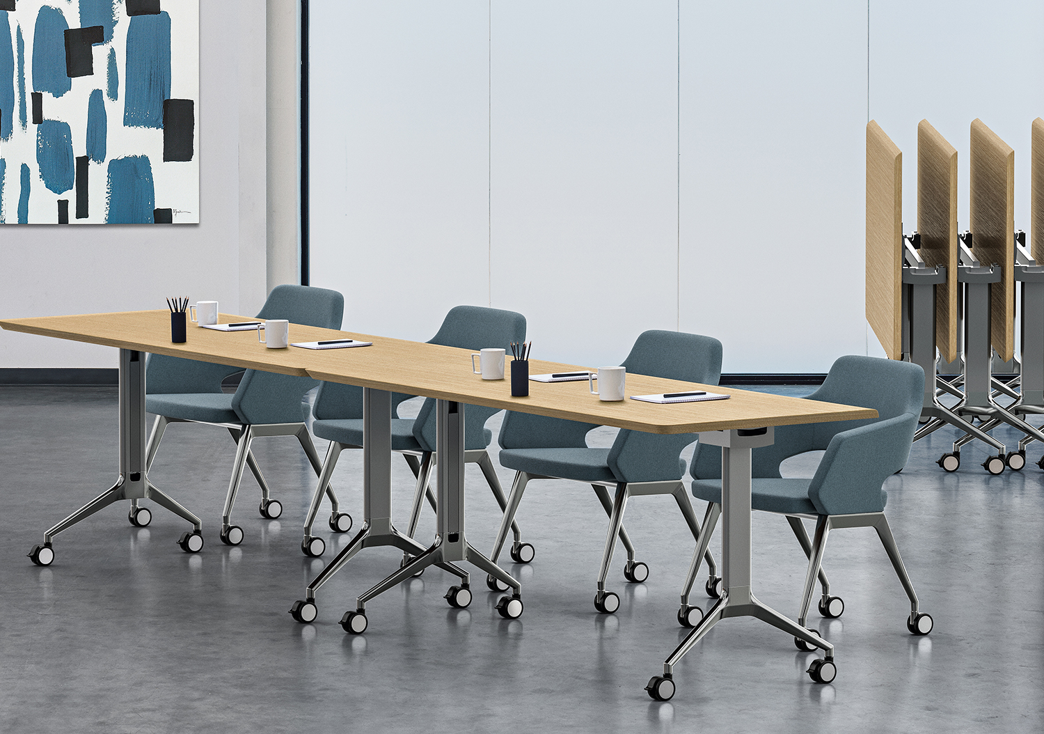 Flirt Meeting Tables - Gibson Interior Products